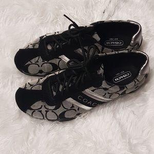 Coach Jayme signature sneaker Black Size 6.5